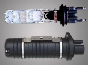 China Vertical 96 Core Waterproof Fiber Optic Splice Closure For Ribbon Fibers on sale