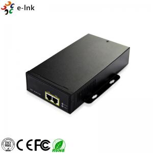 China 100-240V Power Over Ethernet Injector 10/100/1000M High Power 95w 802.3bt With AC Input on sale