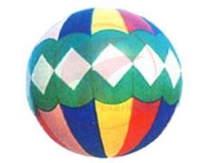 China Fashionable white diamond graphics design inflatable helium balloon on sale