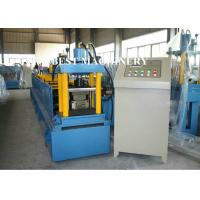 Steel Door Frame Roll Forming Machine with Notch Hole Station