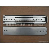 China FX3076 heavy duty full extension drawer slide on sale