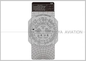China Plastic Aviation Flight Computer Wheel E6B Plotter with Cardboard for Classroom Pilot Students Cya Brand on sale