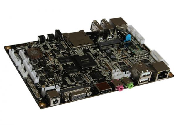 Dual Channel LVDS ARM Computer Motherboard With Rockchip RK3188
