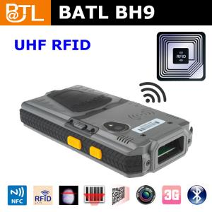 China BATL BH9 ip65 rugged pda handheld with UHF, LF HF RFID in one device GPS WIFI 3G BLUETOOTH basic on sale