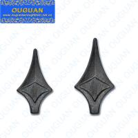 China Ornamental iron spears and finials ornamental cast iron spear on sale