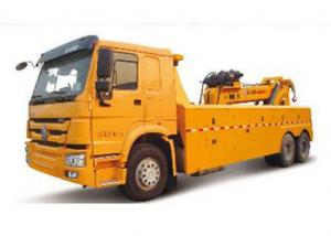 China Durable Hydraulic Highway / Road Accident Wrecker Tow Truck With Crane Arm on sale