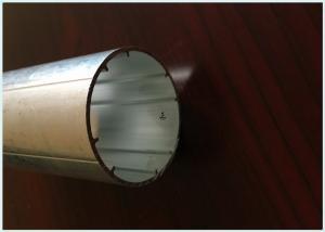 China 6063 T5/T6 Aluminium Hollow Profile powder Painted Aluminum Tube With CNC Machining on sale