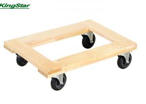 China Carpet End Hardwood Movers Dolly , 1200 Lb Furniture Dolly Rubber Wheels on sale