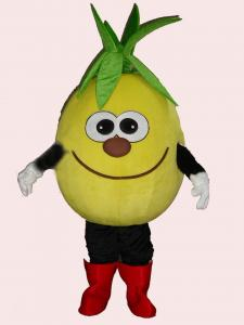 Quality pineapple fruit mascot cartoon cosplay costumes of full body  for sale