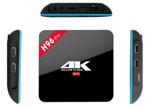 China HD Smart Multimedia Player Android Amlogic S912 TV Box Multi Language Support on sale
