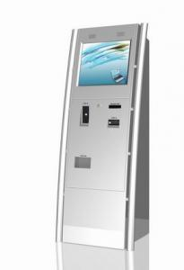China Black Infrared TP Subway Self Service Kiosk Indoor With USB Memory Card on sale