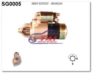 China 0001107037 Car Motor Starter, Auto Starter Motor, 0001108030, 0123335002, 0120689562-BOSCH on sale