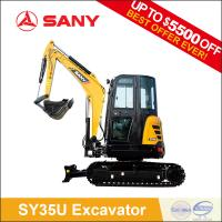 SANY SY35C 3.5t Small Cheap Mini Excavator with CE Certification of Digger Machine for Garden Use