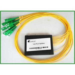 1x8 Ports Fiber Optic PLC Splitter For Connector  SC/APC , Planar Lightwave Circuit Splitter