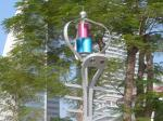 China High Power 120W Maglev Wind Solar Hybrid Street Light 3 Years Warranty wholesale