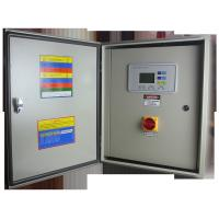 China Two Pumps Three Phase Programmable Logic Controller With LCD Display on sale