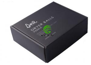 China Matte Black Cardboard Jewelry Gift Boxes For Shipping Goods Offset Printing on sale