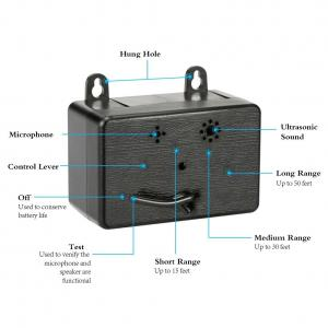 China Mini Deterrent Ultrasonic Dog Bark Control Silent ultrasonic anti dog barking devices on sale