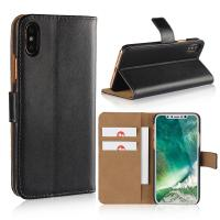 iPhone XS Case, iPhone 8 Wallet Case, Premium PU Leather Flip Cover with Card Slot for iPhone 5/6/7/8/X/XS/XS MAX/XR