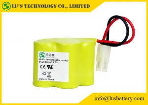 China 4.8v NIMH 1.2 V Rechargeable Battery Pack 2500mah Rechargeable With Wires / Connector on sale