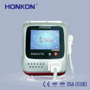China Arms / Armpits / Chest 808Nm Diode Laser For Hair Removal with Sliding and Flash Mode supplier