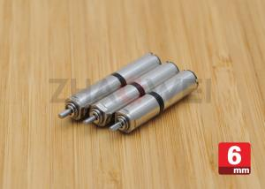 China Micro DC Geared Motor Diameter 6mm 3V / Small Low rpm Electric Motor on sale