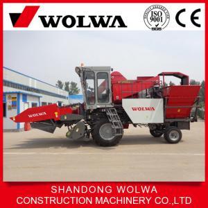 China 3 rows corn grain harvester corn combine harvester sweet corn harvester on sale