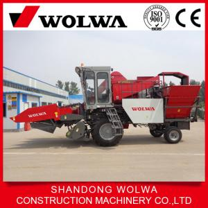 China Combine corn harvester with self-loading system for 3 row on sale