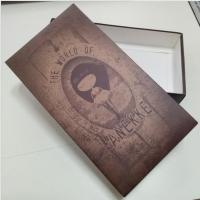 China High quality custom design printed folding clothing packaging paper cardboard box on sale
