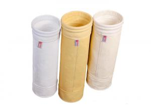 China Automatic Sewing Dust Filter Bag Abrasion Resist , Hepa Filter Bags Double Bottoms on sale