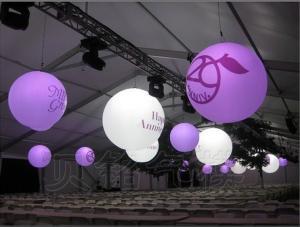 China Custom Inflatable Decoration Hang Ball, Lighting Ball on sale
