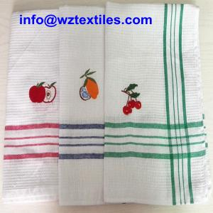 China Cheap Dish Cloth With Embroidery For Promotion on sale