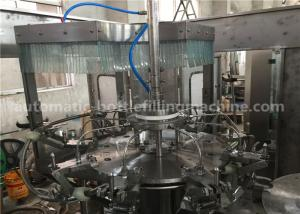 Quality Customized Purified Water Filling Machine , Easy Operating Gravity Filling for sale