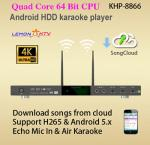 Android system home ktv hd jukebox karaoke player ,download English Vietnamese song from songs cloud free