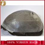 Super Thin Skin Wholesale Human Hair Men Toupee