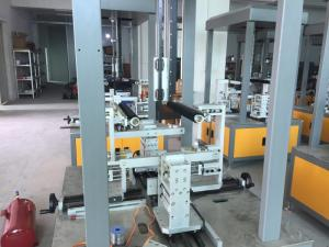 China Firm Automatic Paper Box Making Machine , Food Box Machine 120mm Depth on sale