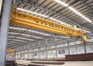 China Electric Double Girder Overhead Crane For Industrial Material Handling And Lifting on sale