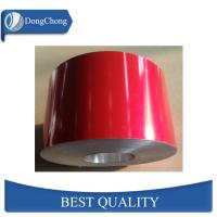 China Red Powder Coated Aluminum Sheet Coil Thermal Insulation Material on sale