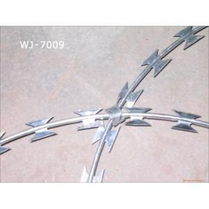 China Concertina razor wire on sale