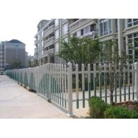 Ornamental Wrought Iron Fence Galvanized Coated High Stiffness For Swimming Pool