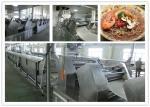Automatic PLC control Non Fried Instant Noodle production line or instant pasta