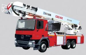 China CDZ40C Aerial Platform Fire Truck on sale