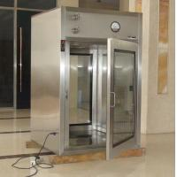 Stainless Steel Air Shower Pass Box / Cleanroom Passbox for Hospital