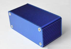 China Wateproof Extruded Aluminum Enclosure Electrical Junction Box Powder Painted on sale