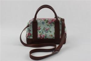 China Fashion Summer Crossbody Shoulder Bags Floral Print With Water Resistant Fabric on sale
