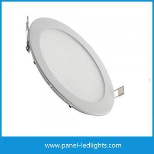China High Efficiency Ultra Slim Led Panel Light , 3w Led Round Panel Light AC85-265V on sale