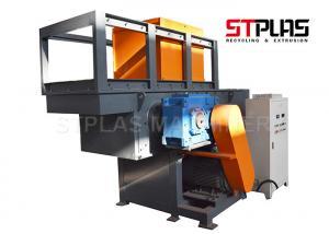 China Single Shaft Shredder Machine with 220-400mm shaft diameter SKD-II blade on sale