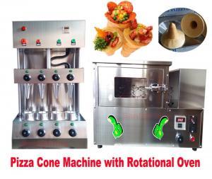 China new design automatic pizza cone machine/Rotating pizza cone oven on sale