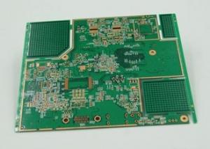 China HDI PCB Board 10 Layer BGA High Density Interconnect PCB Immersion Gold Plated on sale