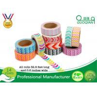 Arts Make / Crafts Decorative Washi Masking Tape Custom Printing For Gift Box